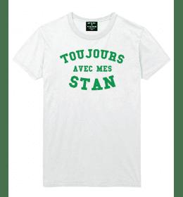 White Man T-shirt TOUJOURS AVEC MES STAN