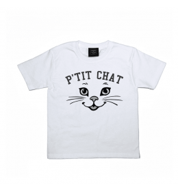 Boy or Girl T-shirt P'TIT CHAT