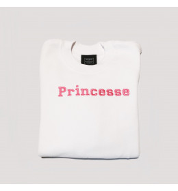 Girl embroidered Sweater PRINCESSE