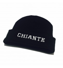 Embroidered Beannie CHIANTE