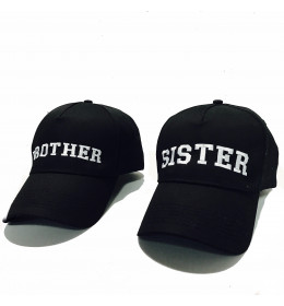 Embroidered Caps BROTHER & SISTER