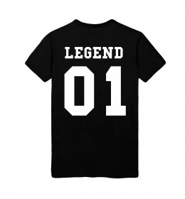 MAN TSHIRT LEGEND 01