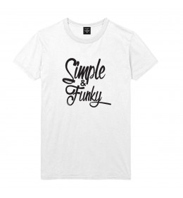 Man T-shirt SIMPLE & FUNKY