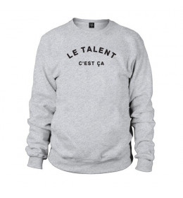 Man Sweater LE TALENT C'EST ÇÀ