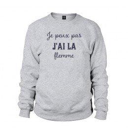 Man Sweater JE PEUX PAS J'AI LA FLEMME