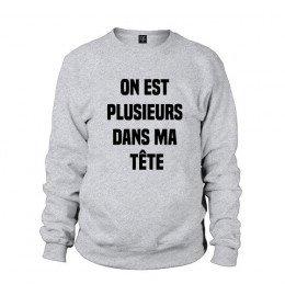 Man sweater ON EST PLUSIEURS DANS MA TÊTE