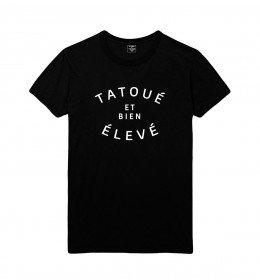 T-shirt homme TATOUÉ et bien ÉLEVÉ