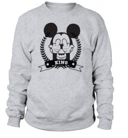 Sweat Homme KING MOUSE