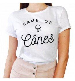 Woman T-shirt GAME OF CÔNES