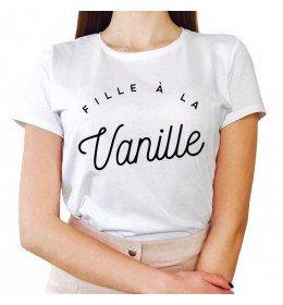 T-shirt Femme FILLE À LA VANILLE