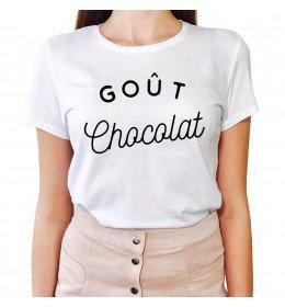 Woman T-shirt GOÛT CHOCOLAT