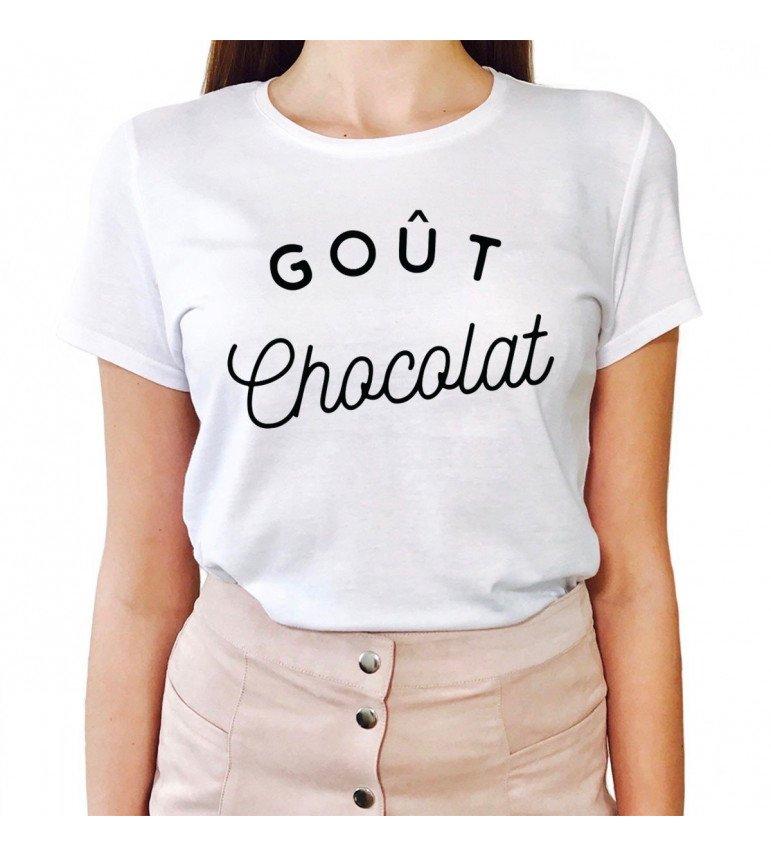 T-shirt Femme GOÛT CHOCOLAT
