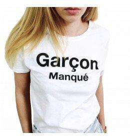 Woman T-shirt GARÇON MANQUÉ