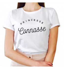 Woman T-shirt PRINCESSE CONNASSE
