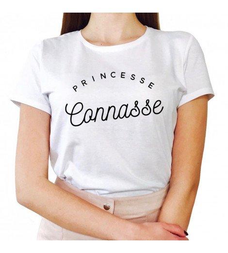T-shirt Femme PRINCESSE CONNASSE