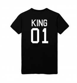 Man T-shirt KING 01