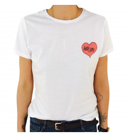 T-shirt Femme HATE YOU