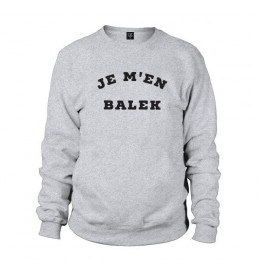 Man Sweater JE M'EN BALEK