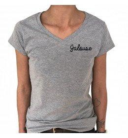 Woman V-neck T-shirt JALOUSE