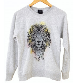 Woman Sweater LION DREAMCATCHER