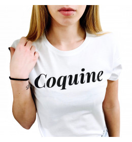 T-shirt Femme COQUINE