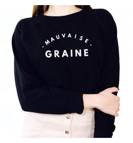 WOMAN SWEATER MAUVAISE GRAINE