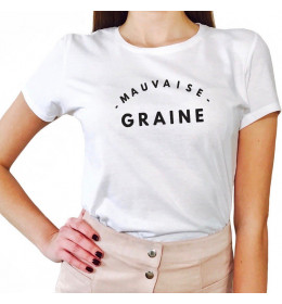 Tee-Shirt Femme MAUVAISE GRAINE