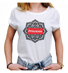 Woman T-shirt PRINCESSE MANDALA
