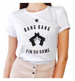 T-shirt Femme FIN DU GAME