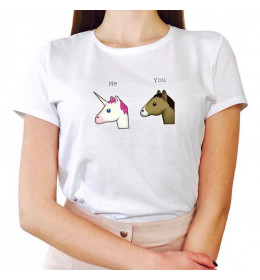 Woman T-shirt ME AND YOU