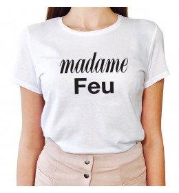 T-shirt Femme MADAME FEU