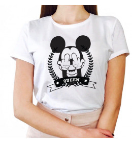 Woman T-shirt QUEEN MOUSE