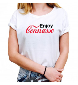 Woman T-shirt ENJOY CONNASSE