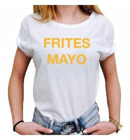 T-shirt Femme FRITES MAYO