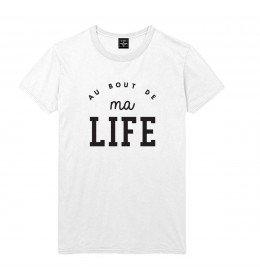 Man T-shirt AU BOUT DE MA LIFE