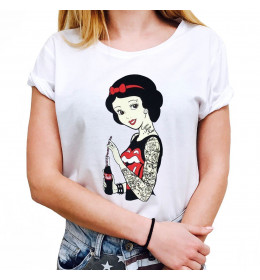 Woman T-shirt SNOW WHITE