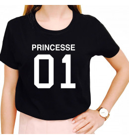 Woman T-shirt PRINCESSE 01