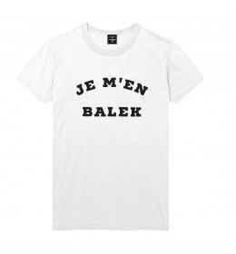Man T-shirt JE M'EN BALEK