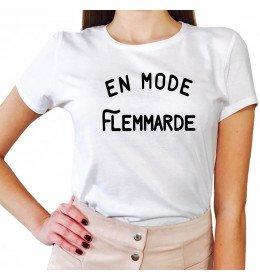 T-shirt Femme EN MODE FLEMMARDE