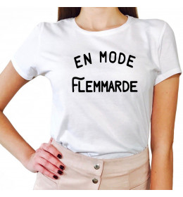 Woman T-shirt EN MODE FLEMMARDE