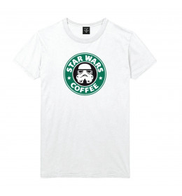 Man T-shirt STAR WARS COFFEE