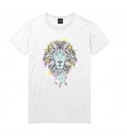 Man T-shirt LION DREAMCATCHER