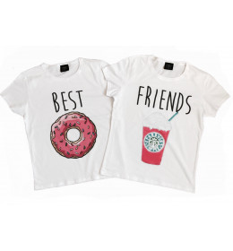 DUO T-shirts Femmes BEST FRIEND