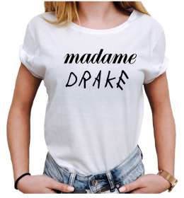 Woman T-shirt MADAME DRAKE