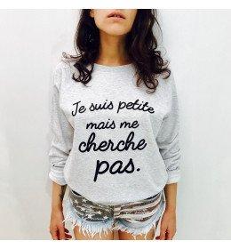Woman sweater JE SUIS PETITE