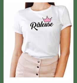 Woman T-shirt REINE RÂLEUSE
