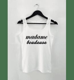 Débardeur Femme MADAME BOUDEUSE