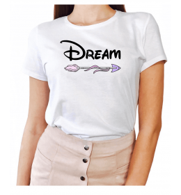 Woman t-shirt DREAM