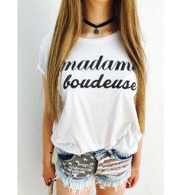 T-shirt Femme MADAME BOUDEUSE