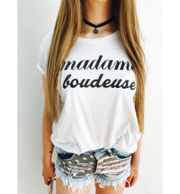 Woman T-shirt MADAME BOUDEUSE